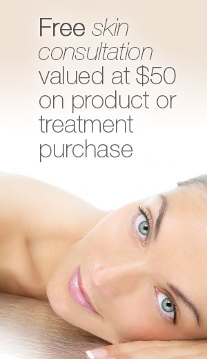 $50 Skin Consultation refunded on purchase